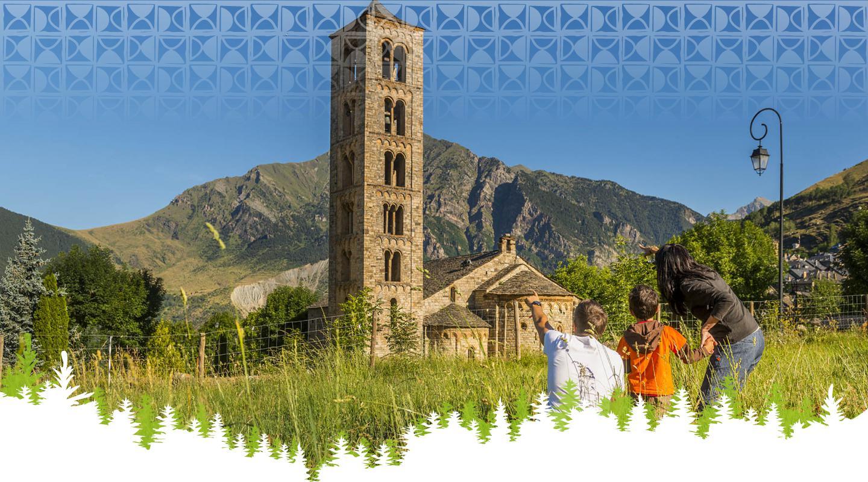 En família a la Vall de Boí - Sant Climent de Taüll